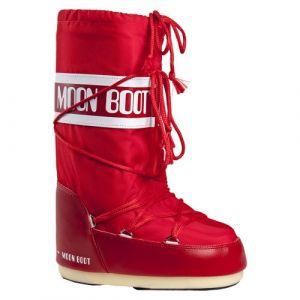 Tecnica Bottes neige Nylon rouge moon boot