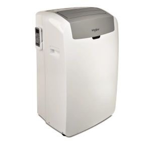 Whirlpool PACW212CO CLIMATISEUR PORTABLE, 12K BTU OU 3,5KW, R290, COOL ONLY, BLANC, A