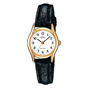 Casio LTP-1154PQ-7 - Montre pour femme avec bracelet en cuir