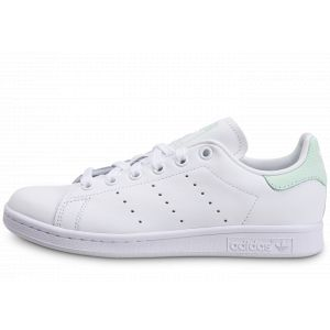 Adidas Stan Smith W, Basket Femme, FTWR White/Dash Green/Core Black, 38 EU