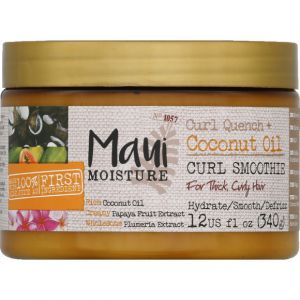 Maui Moisture Masque pour cheveux à l'huile de coco - Le pot de 340g