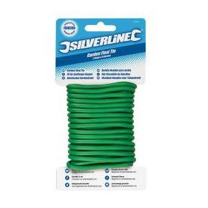 Silverline 868820 - Fil de jardin plastifié à torsader 4,8 mm x 5 m