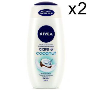 Nivea Creme de Douche Soin Care et Coconut 250 ml
