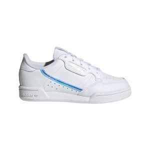Adidas Continental 80 C, Basket Mixte Enfant, FTWR White FTWR White Core Black, 28 EU