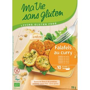 Ma vie sans gluten Falafels Légumes et curry 150gr