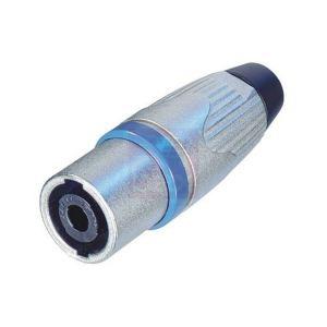 Neutrik NLT-4MX - Fiche speakon mâle 4 points métal