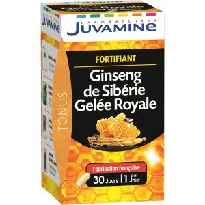 Juvamine Fortifiant Ginseng de Sibérie Gelée Royale