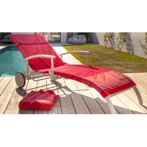 Proloisirs Madrague - Housse pour bain de soleil éponge coton 540gr