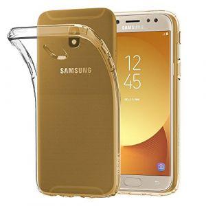 EbestStar Pour Samsung Galaxy J5 2017 SM-J530F - Housse Coque Silicone Gel Souple ULTRA FINE INVISIBLE, Couleur Transparent [Dimensions PRECISES de votre appareil : 146.2 x 71.3 x 7.9 mm, écran 5.2''] (ebestPro (Expédié depuis France), neuf)