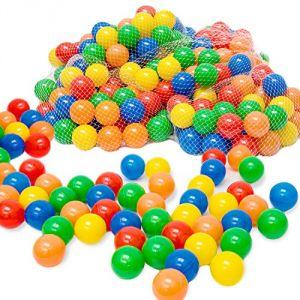 500 balles colorées de piscine
