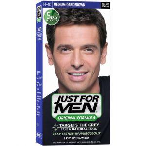 Just for Men Châtain Moyen Foncé - Coloration cheveux pour homme