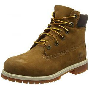 d0280298dae3e3 Bottine et botte enfant. Timberland 6-Inch Premium Waterproof chaussures  d hiver enfants marron 39,0 EU