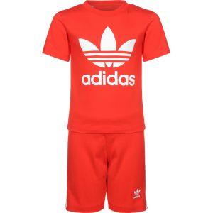 Adidas Ensemble Trefoil Originals Rouge - Taille 0-3 Mois