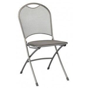 Kettler 0303218-7000 - Chaise de jardin pliante Calvia en acier