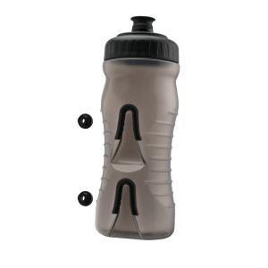 Fabric Bottle Water Bottle 22oz 0.60 L Bouteilles Grey/Black