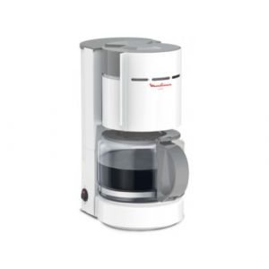 Moulinex FG121110 Uno Grise et Blanche - Cafetière filtre 12 tasses