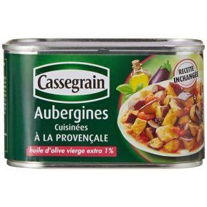 Cassegrain Aubergines cuisinées à la provençale