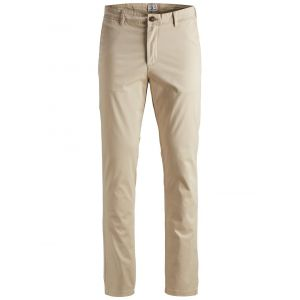 Jack & Jones NOS JJIMARCO JJBOWIE SA White Pepper STS Pantalon, Beige, W34/L32 Homme