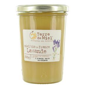 Terre de miel Miel de lavande bio France 500g