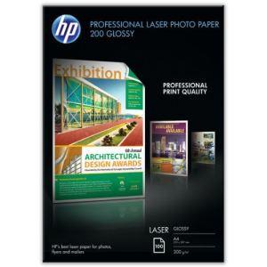 HP 100 feuilles de papier photo Professional Glossy Paper 200g/m² (A4)