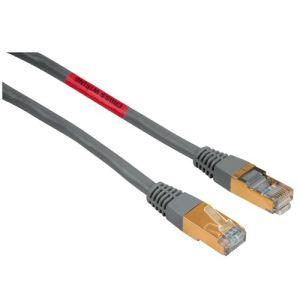 Hama 75045063 - Câble réseau RJ45 STP Cat.5 croisé 10 m