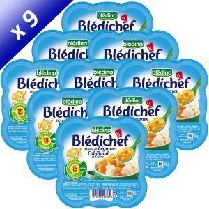 Blédina Blédichef : Légumes Cabillaud et crème 250 g (x9) - dès 15 mois