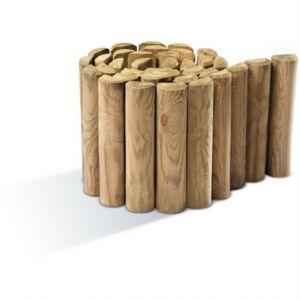 Jardipolys 0210276 - Bordure en pin à dérouler 200 x 30 cm