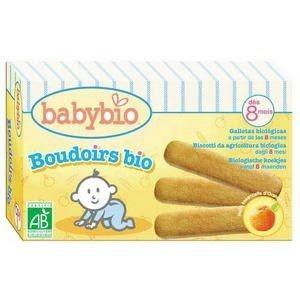 BabyBio Boudoirs biologiques - dès 8 mois