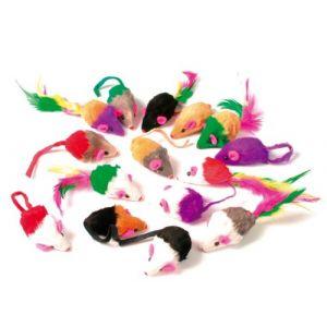 Muscat Lot de 24 souris en fourrure
