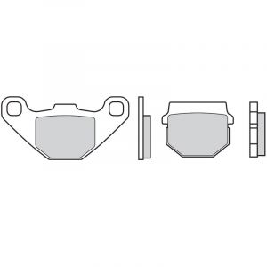 Brembo Plaquettes de frein d'origine carbone-céramique 07HO1118