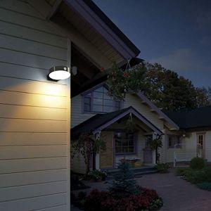Lumihome Applique solaire extérieur murale Sun-Light avec détecteur - Garantie 5 ans