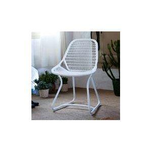 Chaise jardin plastique blanc - Comparer 116 offres