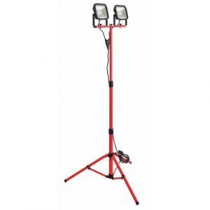 Luceco LED Baustrahler Slim Worklight mit Stativ 2 x 15 W