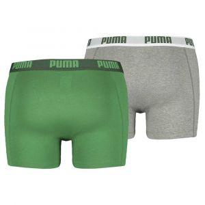 Puma Vêtements intérieurs -underwear Basic Boxer 2 Pack - Amazon Green - Taille XXL