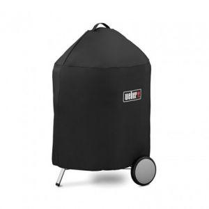 Weber 7143 - Housse de luxe en vinyle pour barbecue à charbon ø57cm