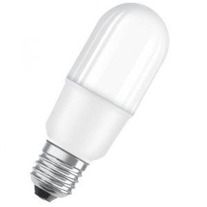 Osram Ampoule LED E27 stick dépolie 10 W équivalent a 74 W blanc chaud - Culot : E27 - Puissance : 10 W - Equivalence : 74 W - Flux lumineux : 1050 lm.