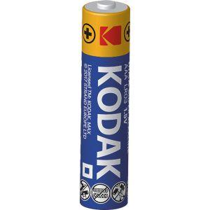 Kodak 4 piles alcalines AAA LR03 1.5V Max
