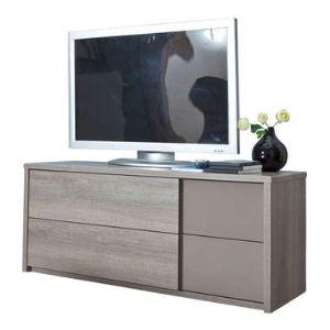 Meuble TV Quadra 2 tiroirs