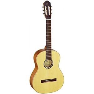 Ortega R121 Guitare de concert avec housse Epicéa/Corps Acajou