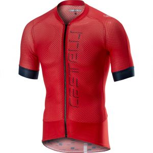 Castelli Maillot Climber's 2.0 FZ - S Rouge Maillots