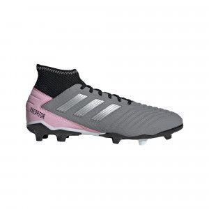 Adidas Predator 19.3 FG Gris/Rose Femme