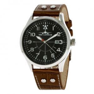 Ted Lapidus 5127903 - Montre pour homme avec bracelet en cuir