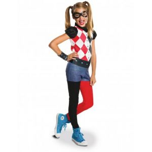 Déguisement classique fille Harley Quinn Superhero Girls