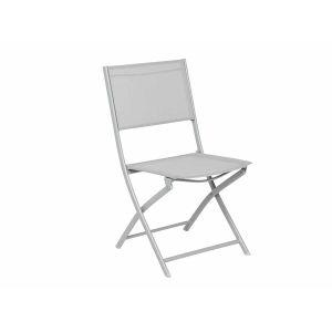 Hesperide Modula - Chaise de jardin pliante en métal
