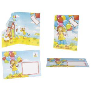 Cartes Postales Avec Enveloppes Peggy Diggledey