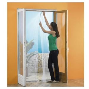 Ose Moustiquaire pour porte fenêtre (2 x 75 x 210 cm)