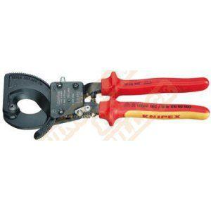 Knipex Coupe-câble à cliquet 250 mm 95 36 250