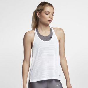 Nike Débardeur de running Miler pour Femme - Blanc - Taille L - Female