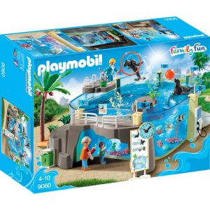 Image de Playmobil 9060 Family Fun : Aquarium marin