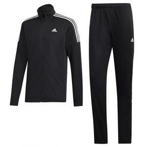 Adidas MTS Team Sports Survêtement Homme, Noir/Blanc, FR : L